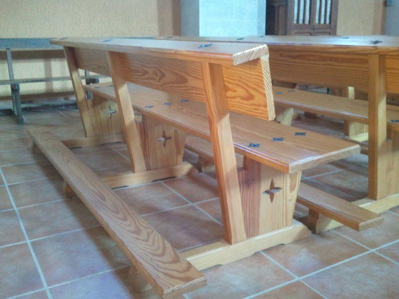 Muebles de madera modernos, trabajos de carpintería para obra nueva ...